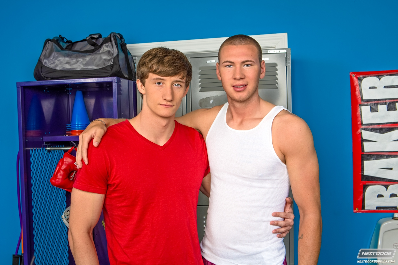 Jay cloud and lance alexander after the gym