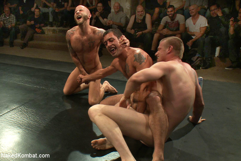 Group sex in front of audience