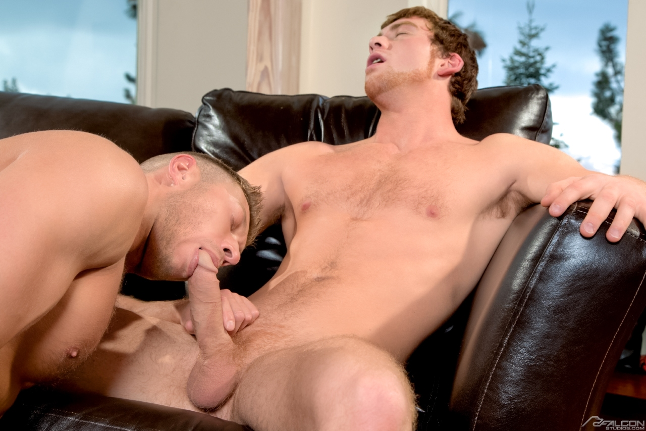 Falcon Studios: Connor Maguire and Johnny Ryder have sex ...