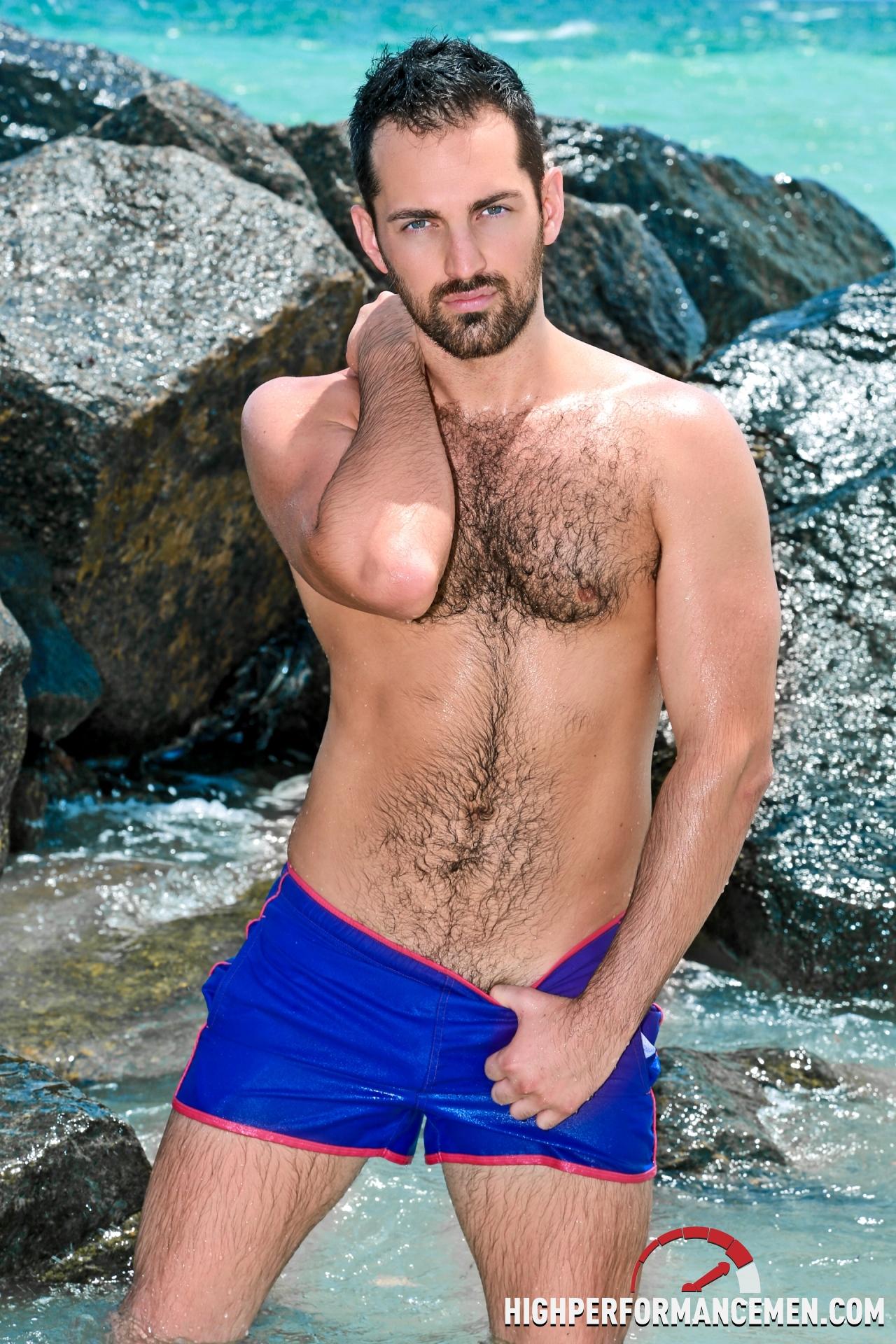 Men handsome naked hairy