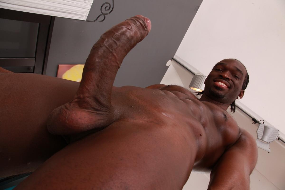 Big black raw dick
