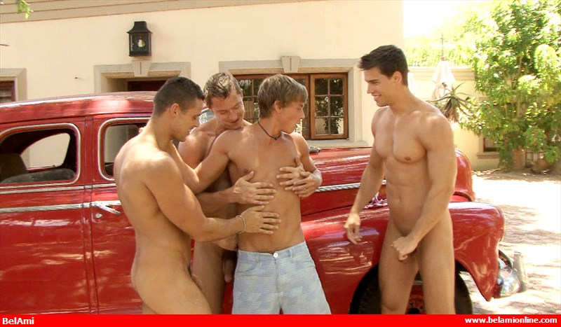 The Bel ami car sex