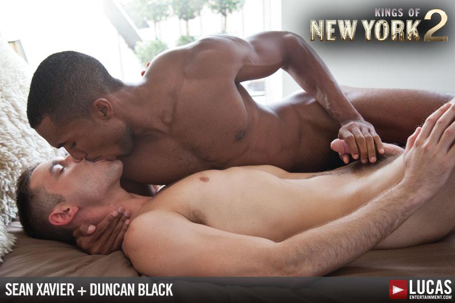 image Hardcore black gay sex movie on banana