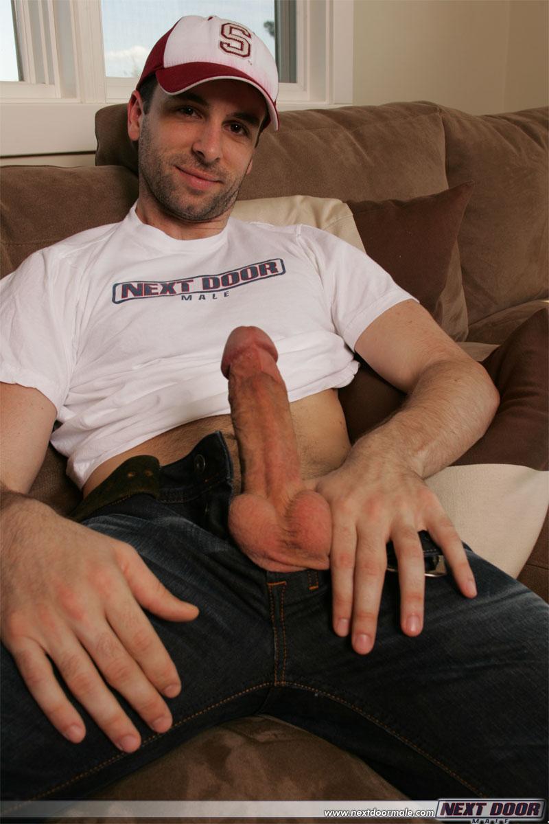 Dick jerking off