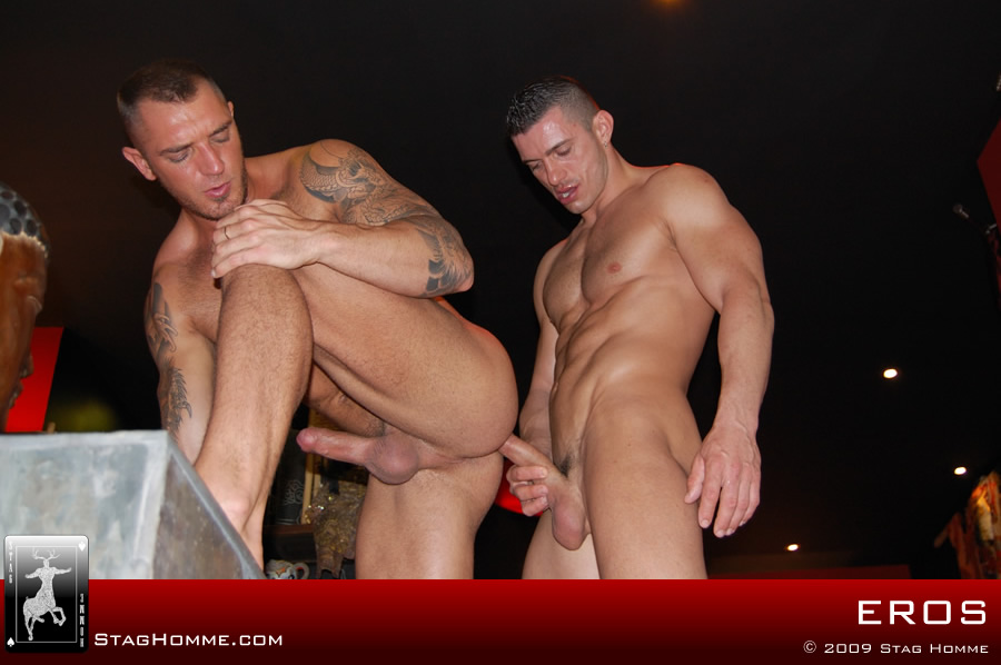 Pic gay macho sex naked anal cock monster