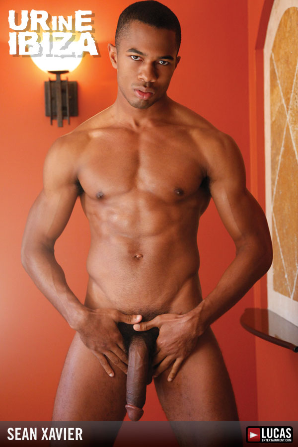 Gay sexy black cock at the same time as he
