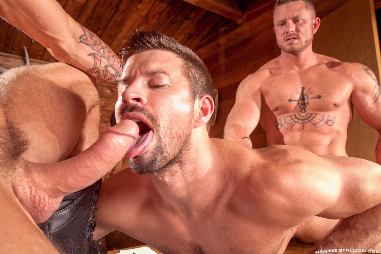 gay facefucking cum in throat compilation