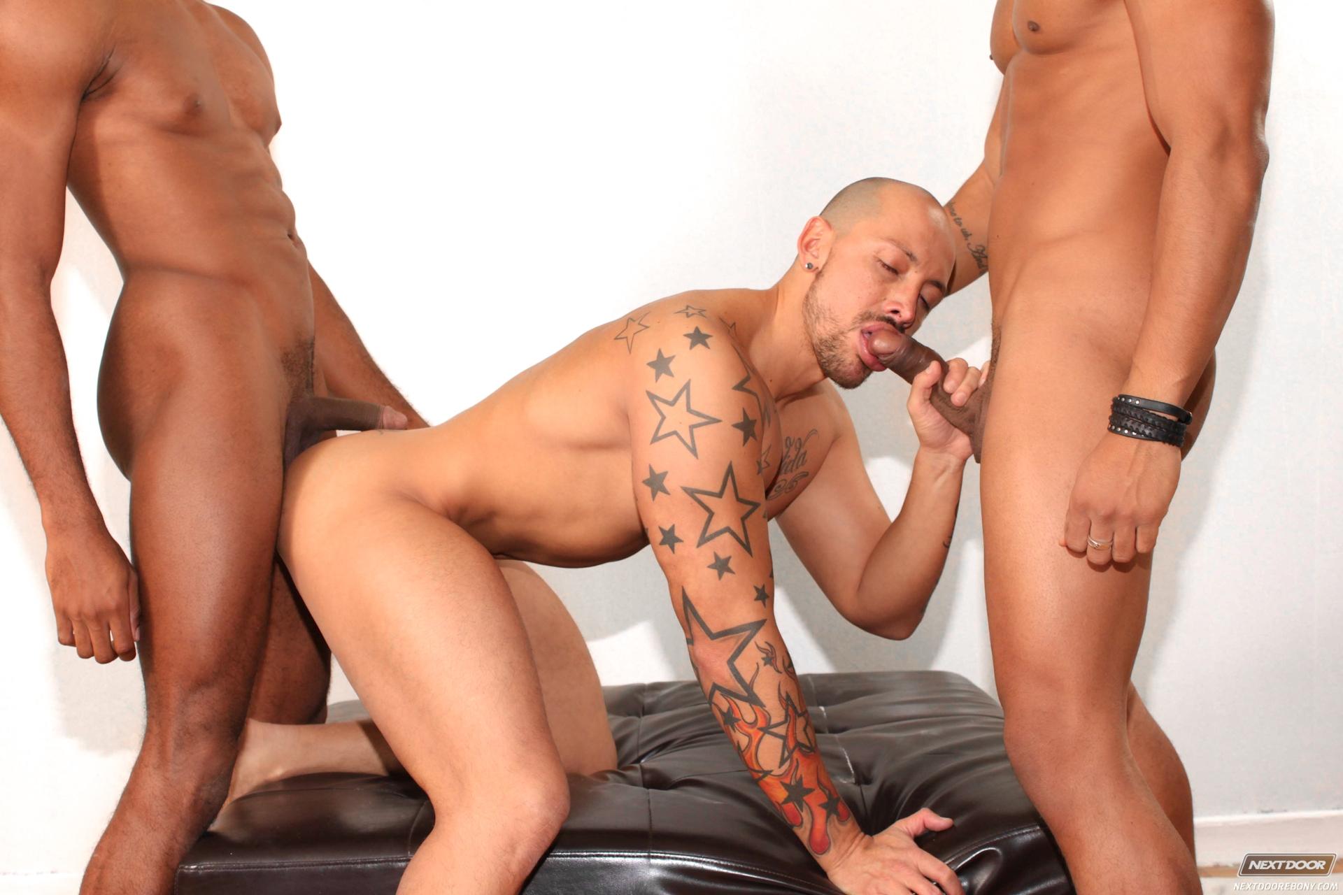Gay black hardcore fucking and kissing 6