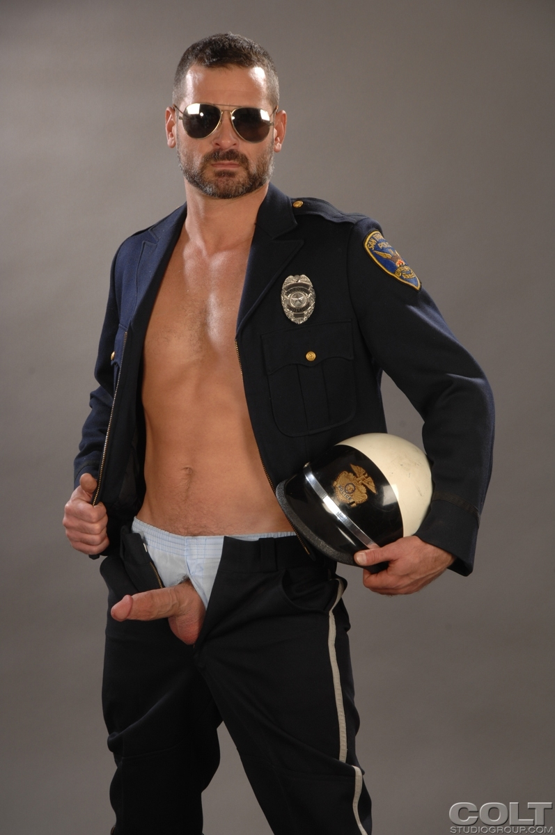 Free gay police sex galleries male handsome 2